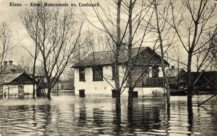 Киев, потоп