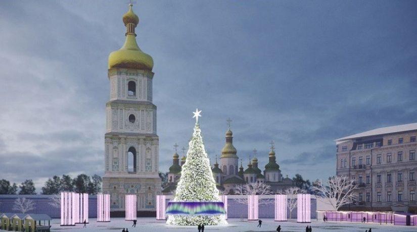 Главную новогоднюю елку на Софийской площади зажгут 19 декабря