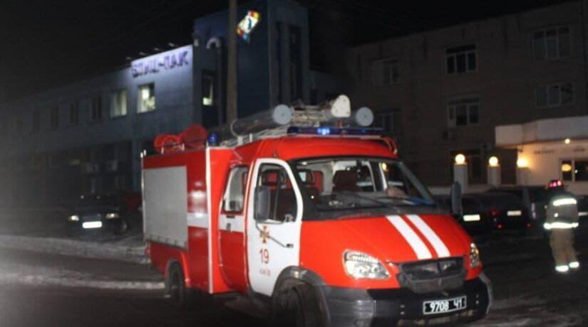 В Деснянском районе произошел пожар в здании типографии