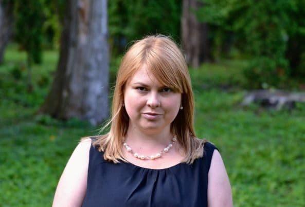 В Киеве прошла акция памяти активистки Екатерины Гандзюк