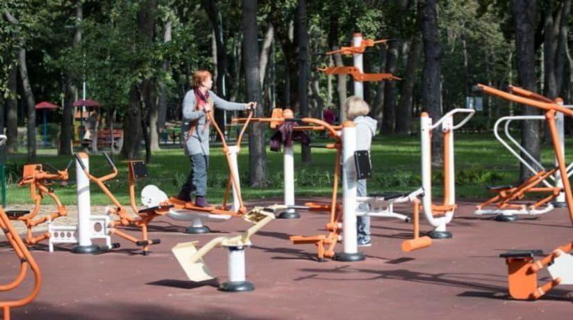 На улице Грушевского обустроят парк со спортивной площадкой