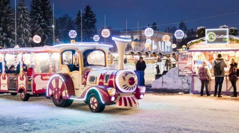 8 декабря на территории Экспоцентра откроется парк развлечений «Зимняя страна»