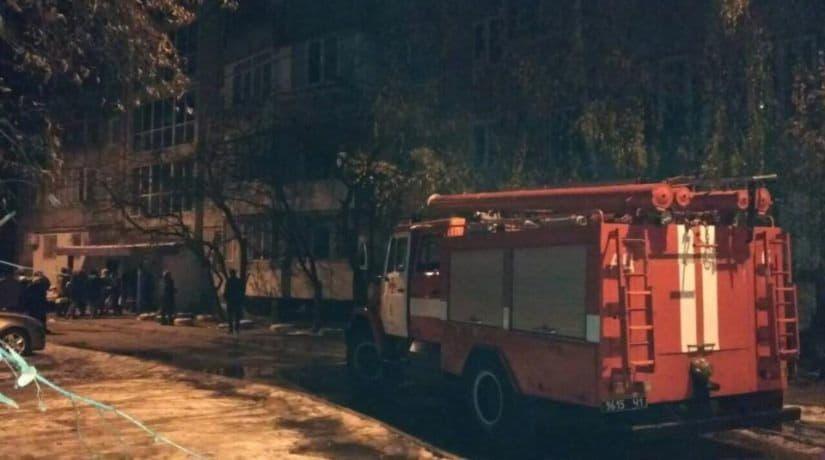 В Шевченковском районе во время пожара в жилом доме погиб человек