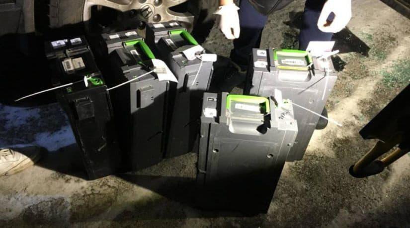 банкомат, кассеты