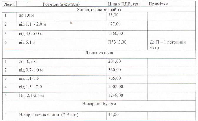 цена на елки