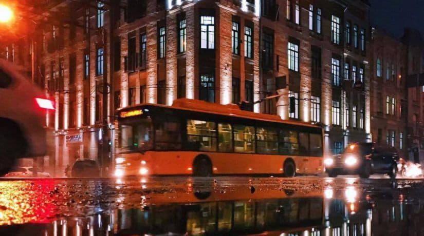 В работу ночного троллейбуса № 94н вносятся изменения