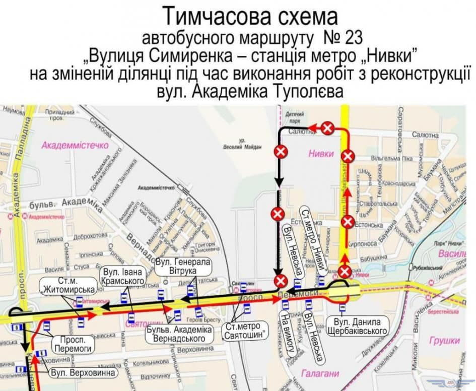 Схема транспорт