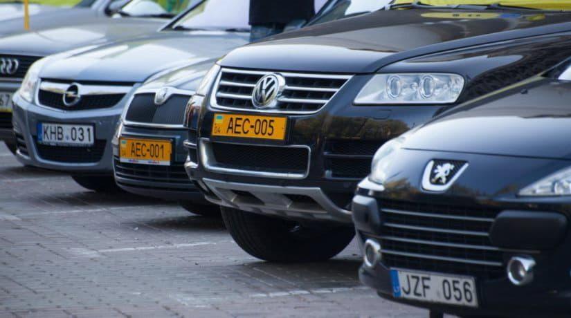 Рада ввела новые ставки акцизного налога на ввоз автомобилей из-за границы