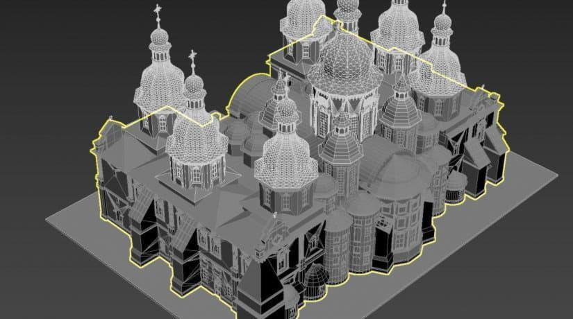 В Киеве установят трехмерные модели известных историко-архитектурных сооружений