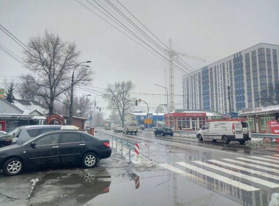 Славутич, светофор