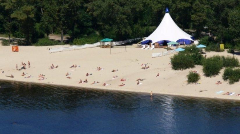 В Киеве назвали лучшие пляжи для купания и отдыха