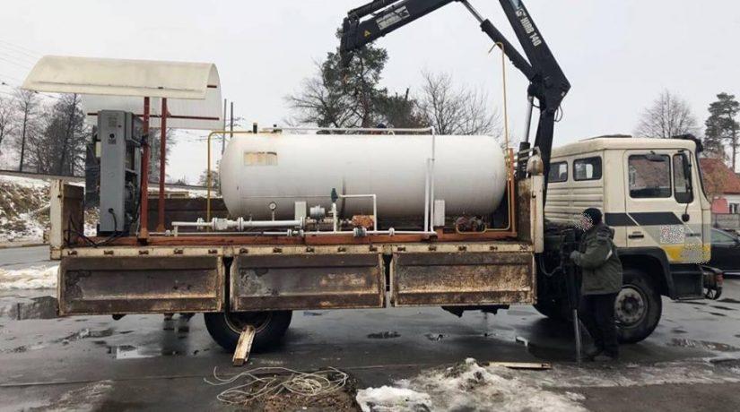 В Киевской области демонтировали семь нелегальных газовых автозаправок