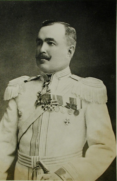 Главнокомандующий всеми вооруженными силами на территории Украины генерал-лейтенант князь А. Н. Долгоруков