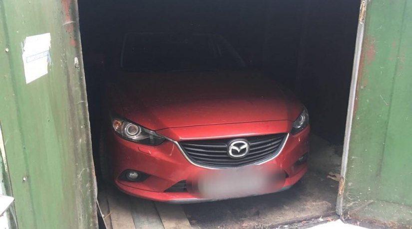 В Киеве задержаны злоумышленники, угонявшие автомобили Mazda