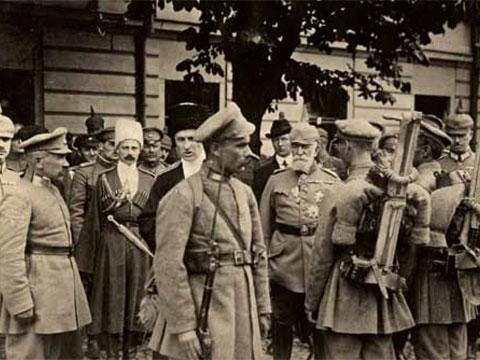 Солдаты армии Украинской державы