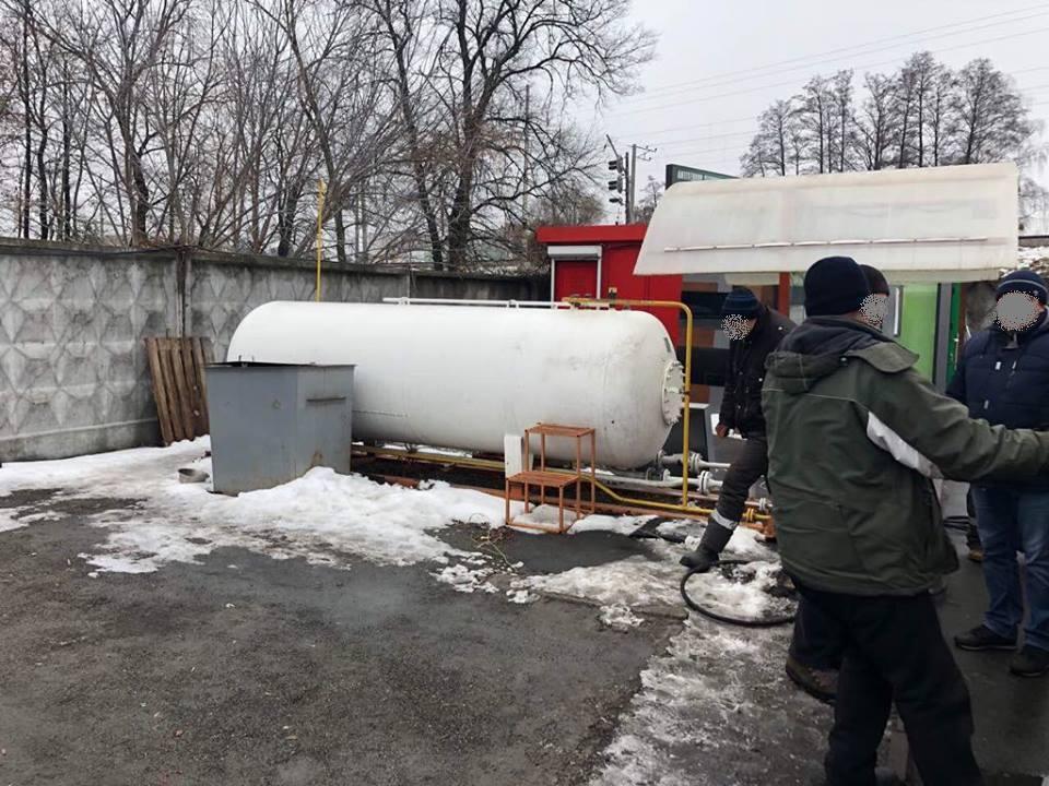 Демонтаж газовой АЗС