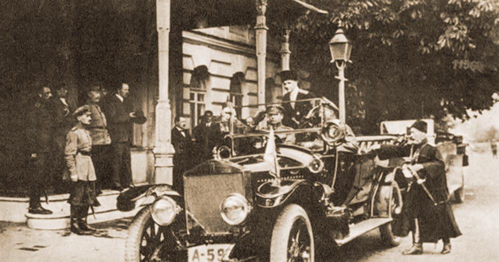 Автомобиль гетмана П. Скоропадского