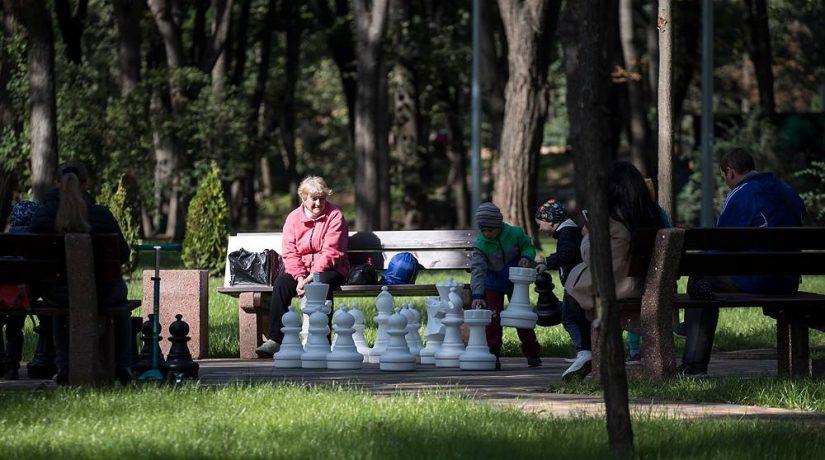 В 2018 году в Киеве обновили 104 парка и сквера