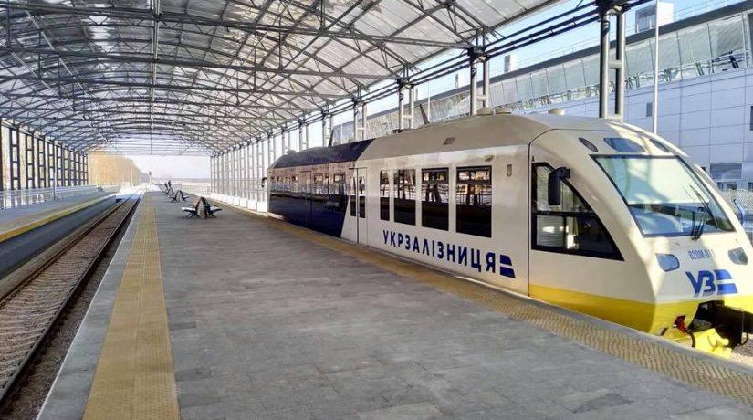 Поезд Kyiv Boryspil Express сломался на следующий день после запуска