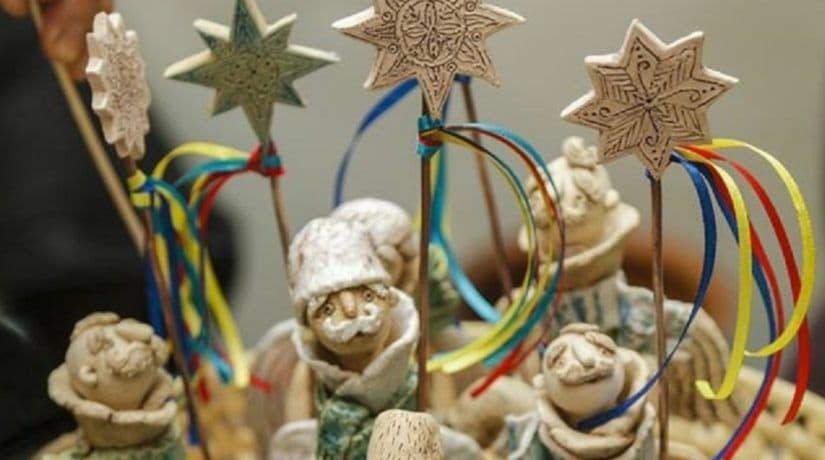 В Киеве проходит рождественская фестивалия «Орели»