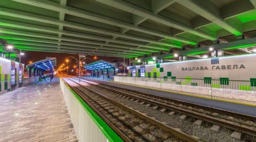 Движение скоростных трамваев на Борщаговской линии будет ограничено