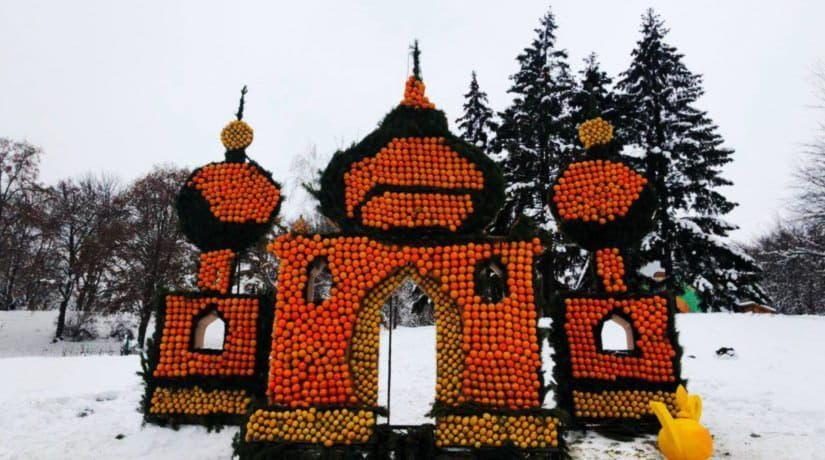 На Певческом поле открылся новогодний фестиваль «Цитрусовое королевство»