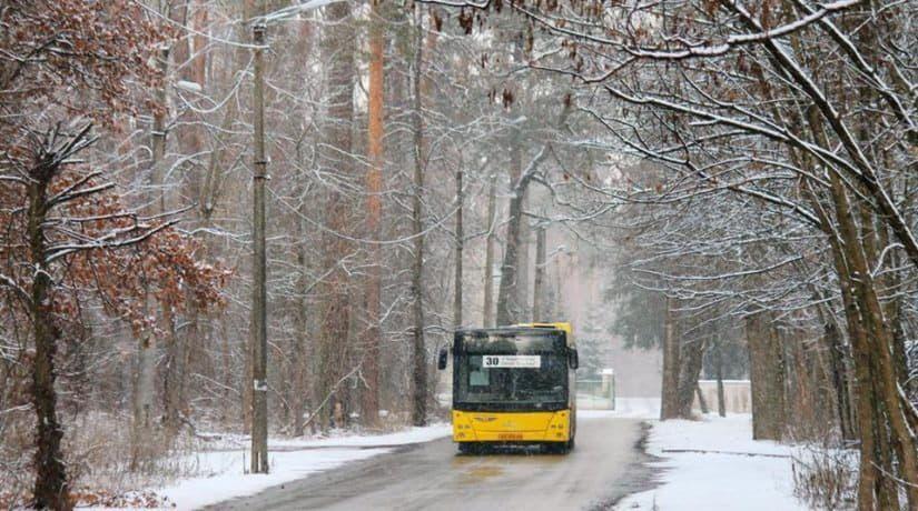 С 22 декабря изменятся маршруты автобусов № 30, 56, 118