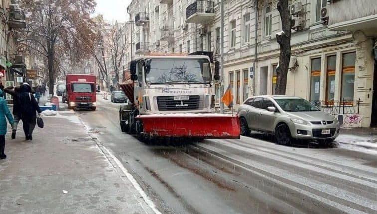 снег, уборка