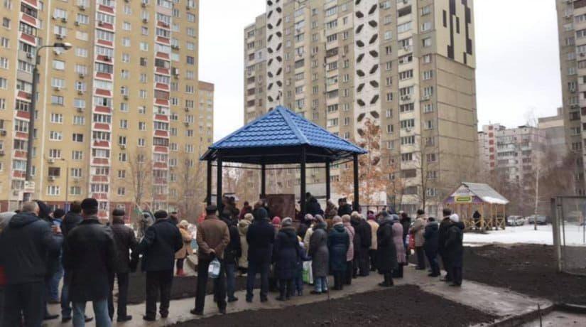 В Дарницком районе открыли новый бюветный комплекс