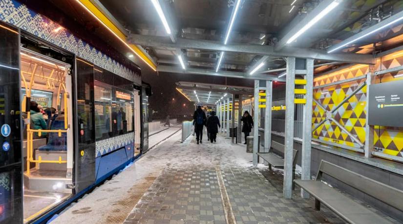 Движение скоростных трамваев № 1 будет временно закрыто