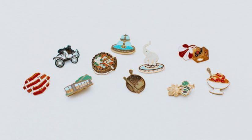 Представлены значки мини-скульптур проекта «Шукай»