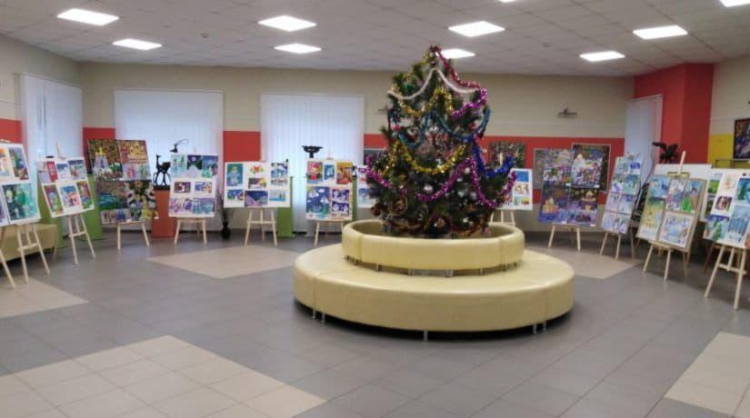 Выставка художественная школа
