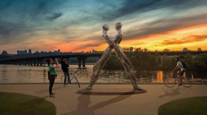 Скульптура Единение