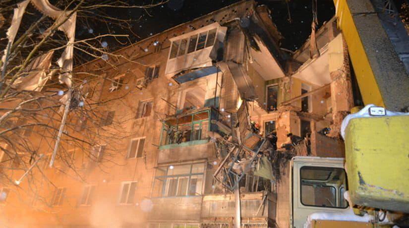 Фастов, взрыв дома