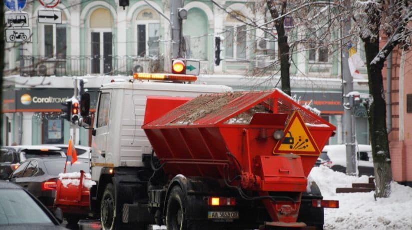 Киев, зима