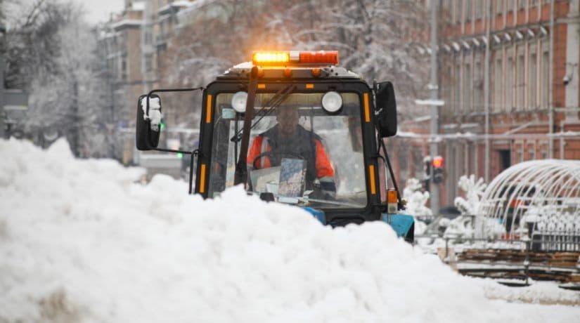 С начала зимнего сезона из Киева вывезли 27 тысяч тонн снега