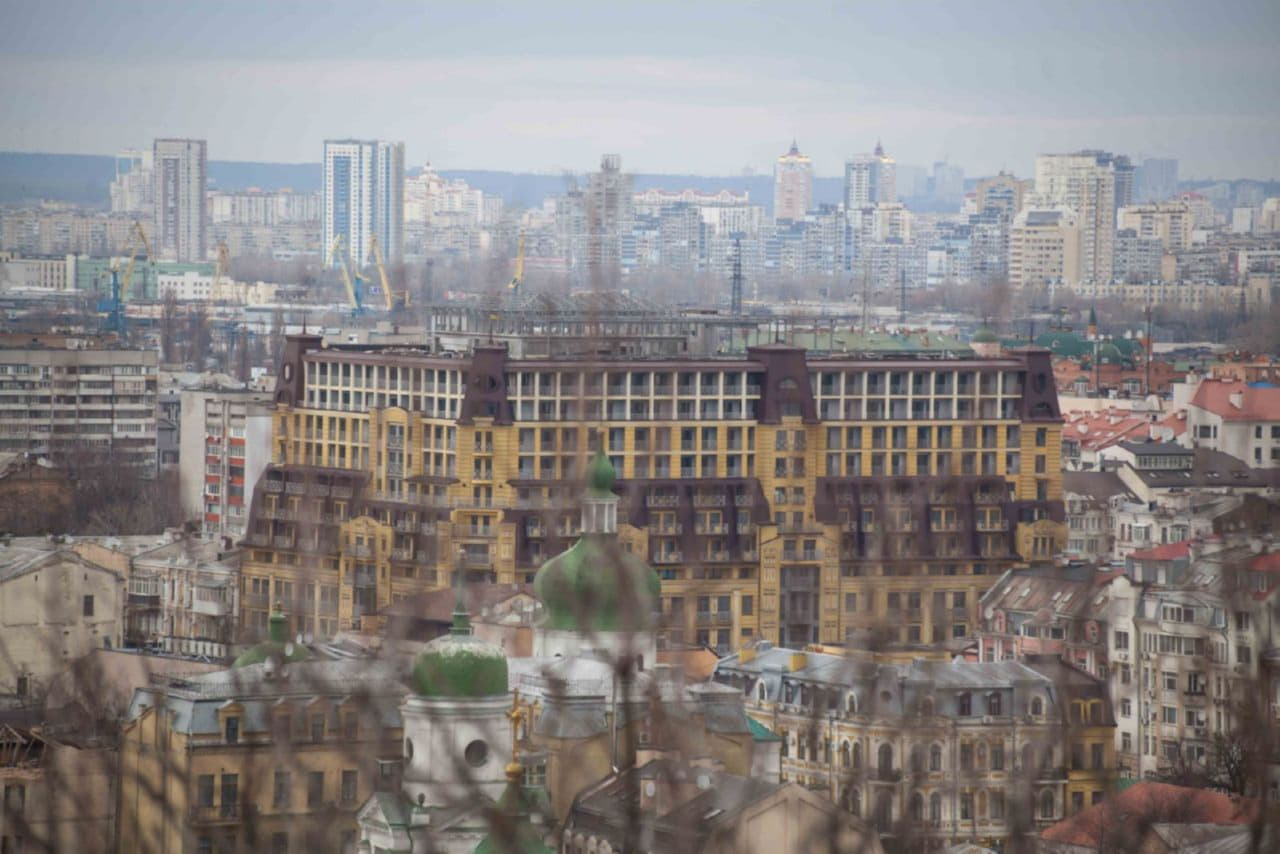 застройка Киева
