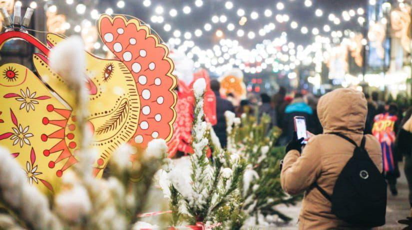 На Контрактовой площади открывается новогодний городок