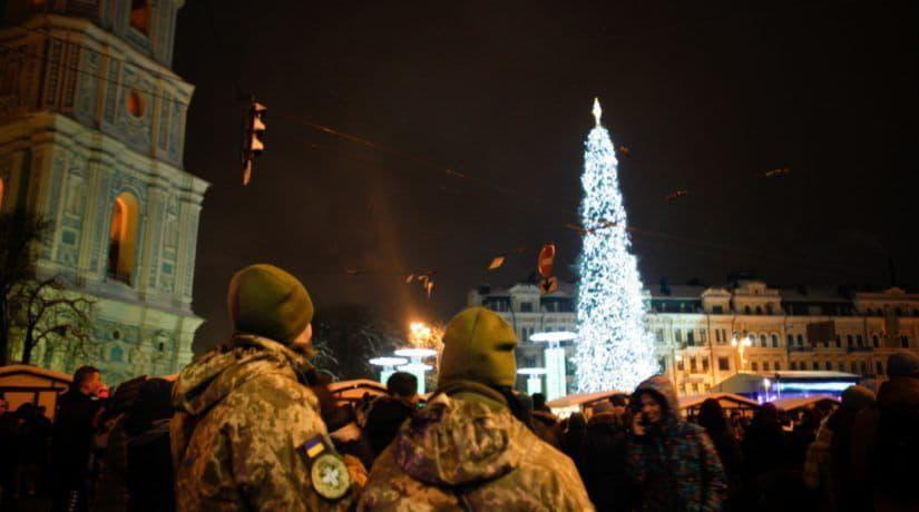 главная елка, Софийская площадь