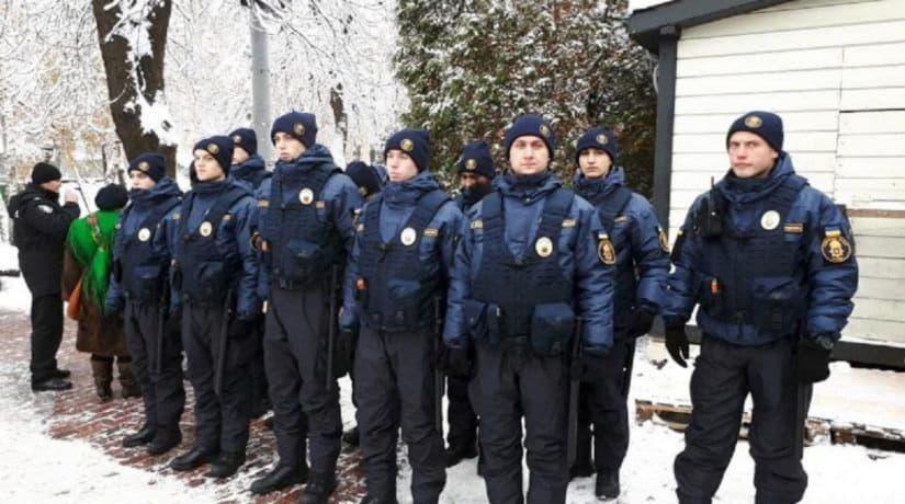В центре Киева усилены меры безопасности