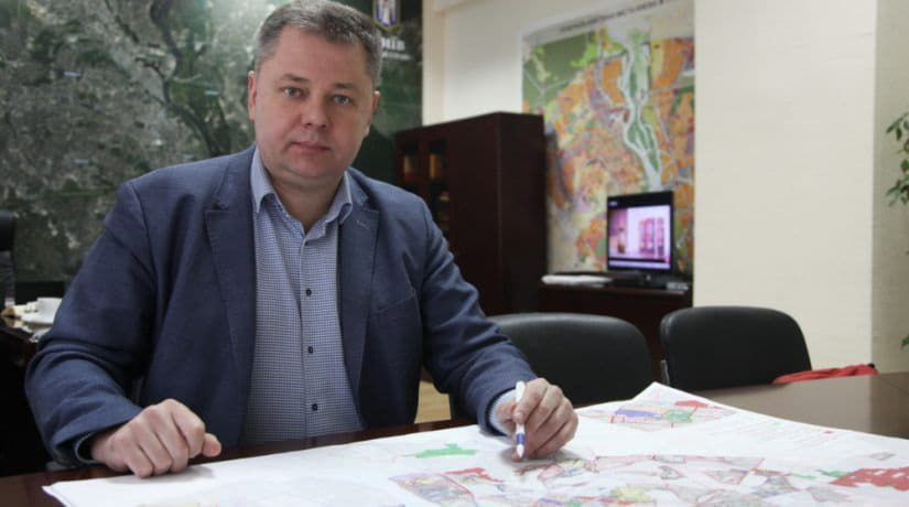 Сергей Броневицкий, Киев, Генплан