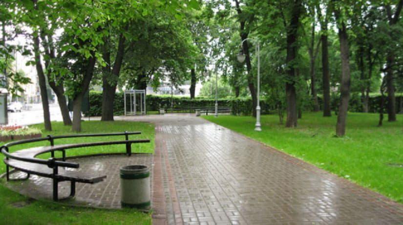 парк,