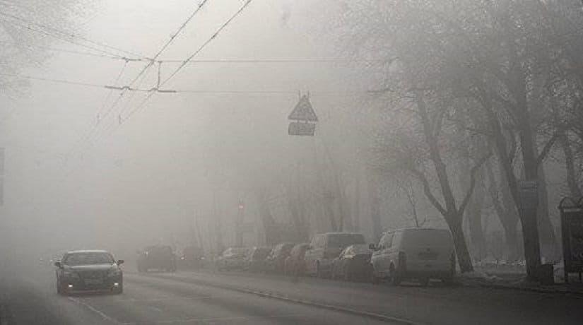 погода, туман