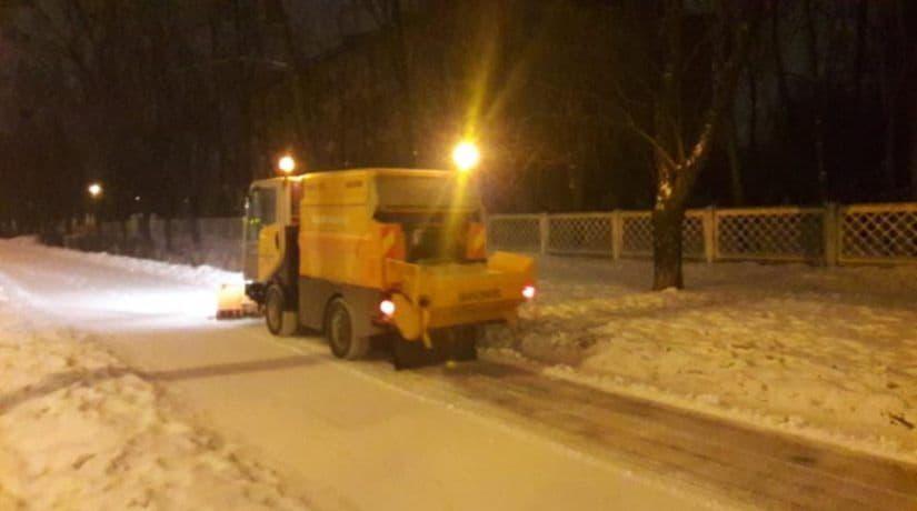 уборка снега, Киевавтодор