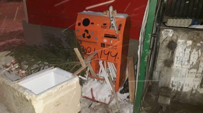 контейнер для сбора опасных отходов