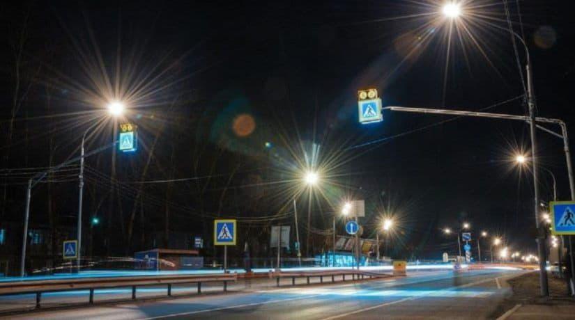 В Киеве 12 наземных переходов оснастили сенсорным освещением
