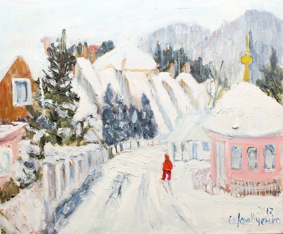 Ольга Кравченко, живопись