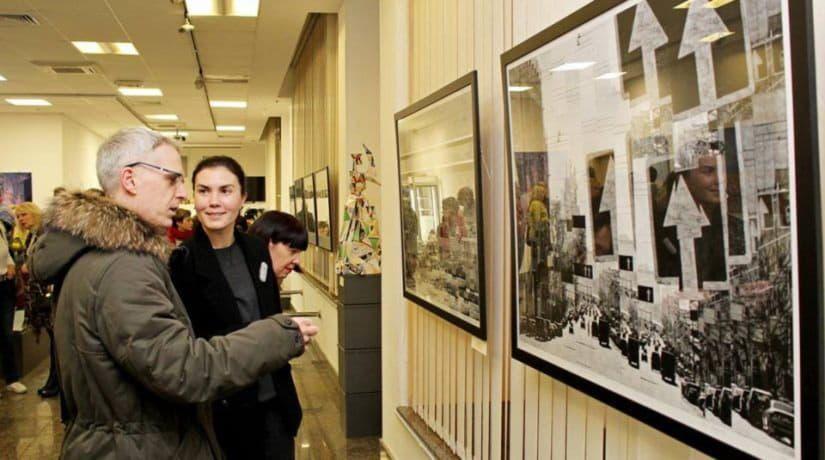 выставка картин о Киеве
