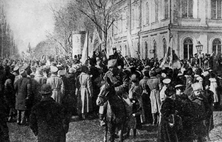 Торжественное шествие в честь объединения