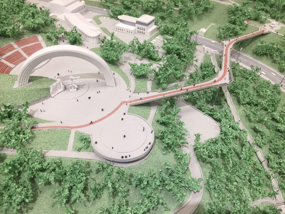 Проект пешеходного моста